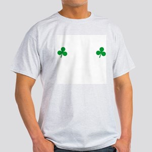 Shamrock Nipples Ash Grey T-Shirt