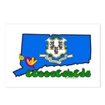 ILY Connecticut Postcards (Package of 8)