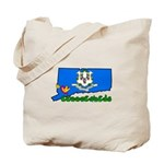 ILY Connecticut Tote Bag
