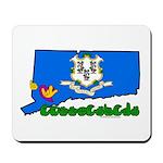 ILY Connecticut Mousepad