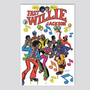 FastWillie Jackson Postcards (Package of 8)