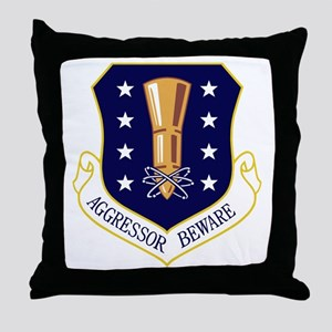 44th Missile Wing Throw Pillow