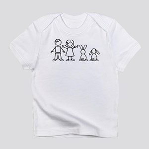 2 bunnies family Infant T-Shirt