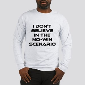 Classic Captain Kirk Quote Long Sleeve T-Shirt