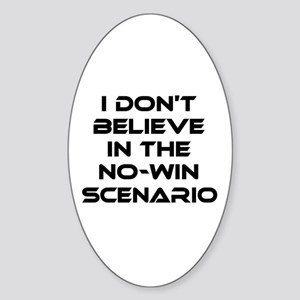 Classic Captain Kirk Quote Sticker (Oval)