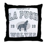 La Push Wolves Throw Pillow
