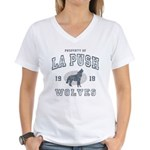 La Push Wolves Women's V-Neck T-Shirt