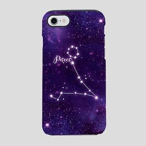 Pisces Zodiac Constellation iPhone 7 Tough Case