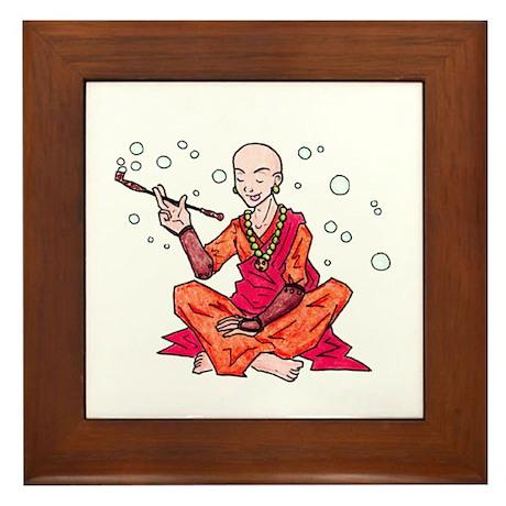 Monk Framed Tile