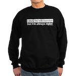 Left-Handed Sweatshirt (dark)