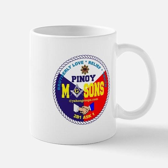 Masonic Pinoy Mason Mug