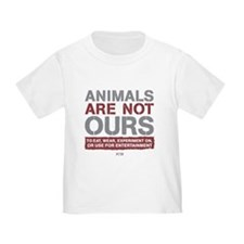 Animals Are Not Ours Toddler T-Shirt