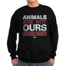 Animals Are Not Ours Sweatshirt (dark)