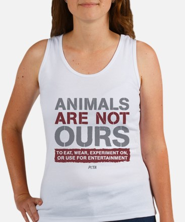Animals Are Not Ours Women's Tank Top