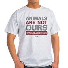 Animals Are Not Ours Light T-Shirt