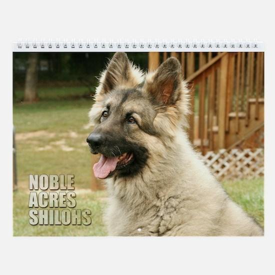 Noble Acres Wall Calendar :2011