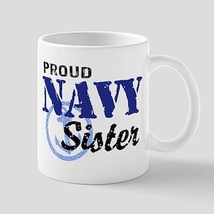 Proud Navy Sister Mug