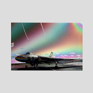 RAF Vulcan Aero-Art Rectangle Magnet