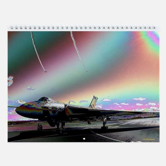 RAF Vulcan Aero-Art Wall Calendar