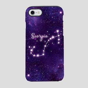Scorpio Zodiac Constellation iPhone 7 Tough Case