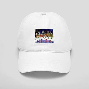 Folk Art Holiday Fun Cap
