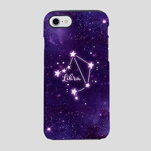 Libra Zodiac Constellation iPhone 7 Tough Case