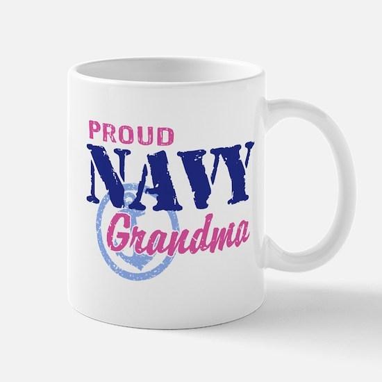 Proud Navy Grandma Mug