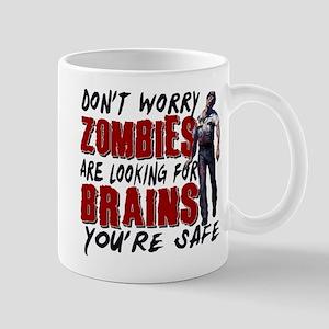 Zombie Brains - You're Safe Mug
