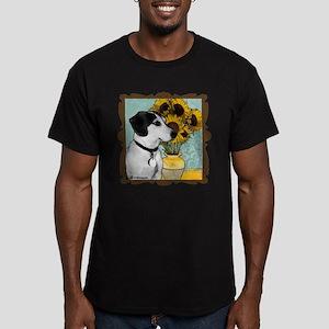 Arnie van Gogh Men's Fitted T-Shirt (dark)