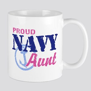 Proud Navy Aunt Mug