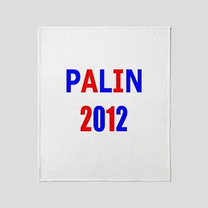 PALIN 2012 Throw Blanket