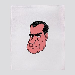 RICHARD NIXON Throw Blanket