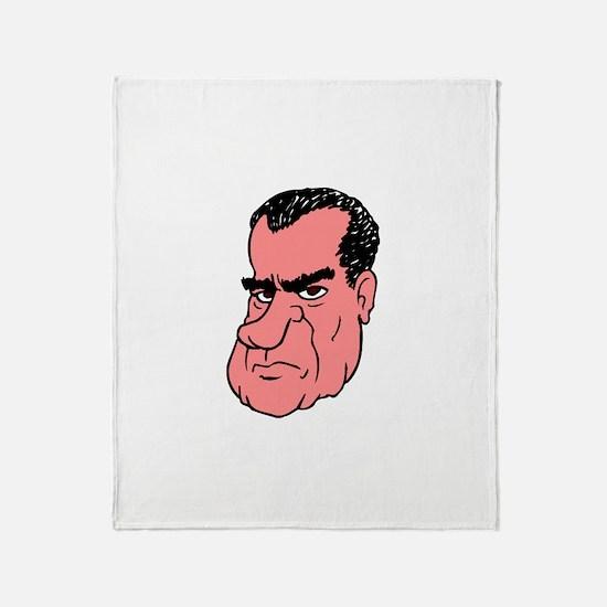RICHARD NIXON Throw Blanket