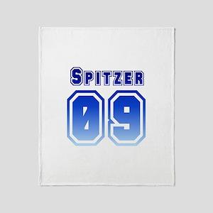 SPITZER '09 Throw Blanket
