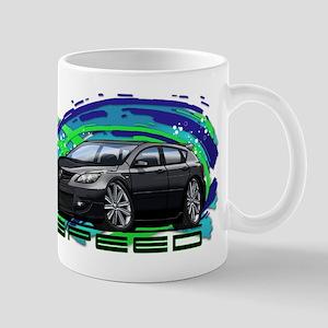 Black Speed3 Mug
