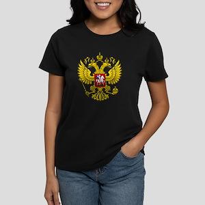 Russia Crest Women's Dark T-Shirt