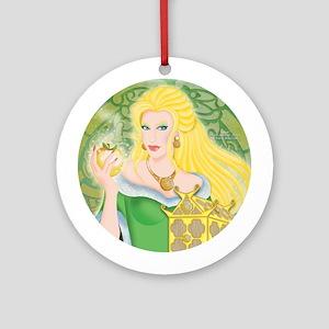 """Idunn, Norse Goddess of Immortality"" Ornament"