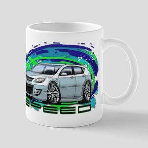 White Speed3 Mug
