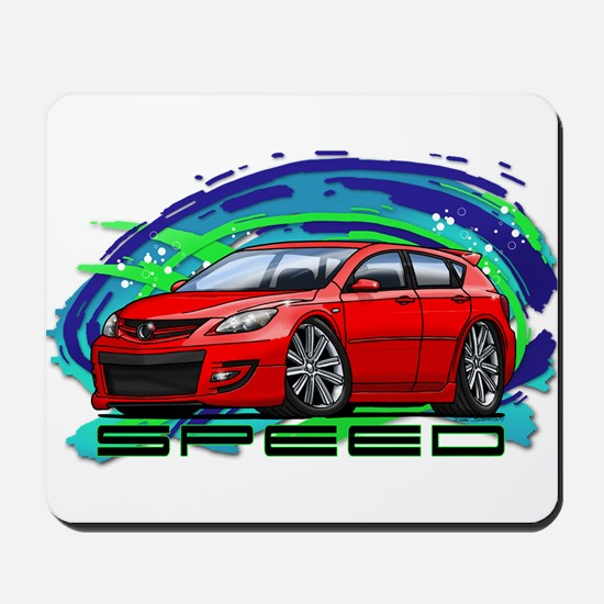 Red Speed3 Mousepad