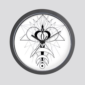 Flower of Acension Wall Clock
