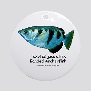 Banded Archerfish Ornament (Round)