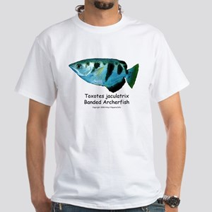 Banded Archerfish White T-Shirt