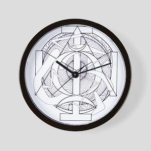God I AM Wall Clock