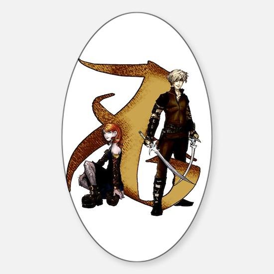 """Love"" Rune - Sticker (Oval)"