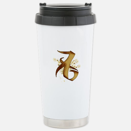 """Love"" Rune - Stainless Steel Travel Mug"