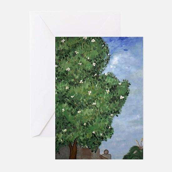 Magnolia Tree Note Cards