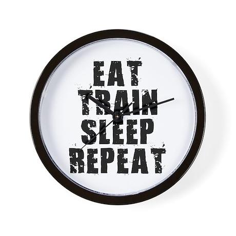 Eat, Train.... Wall Clock