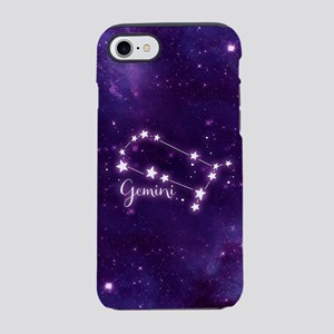 Gemini Zodiac Constellation iPhone 7 Tough Case