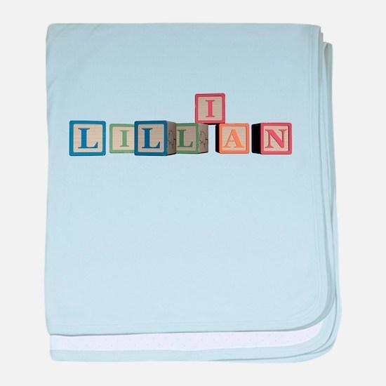Lillian Alphabet Block baby blanket