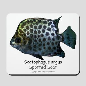 Scatophagus argus Mousepad